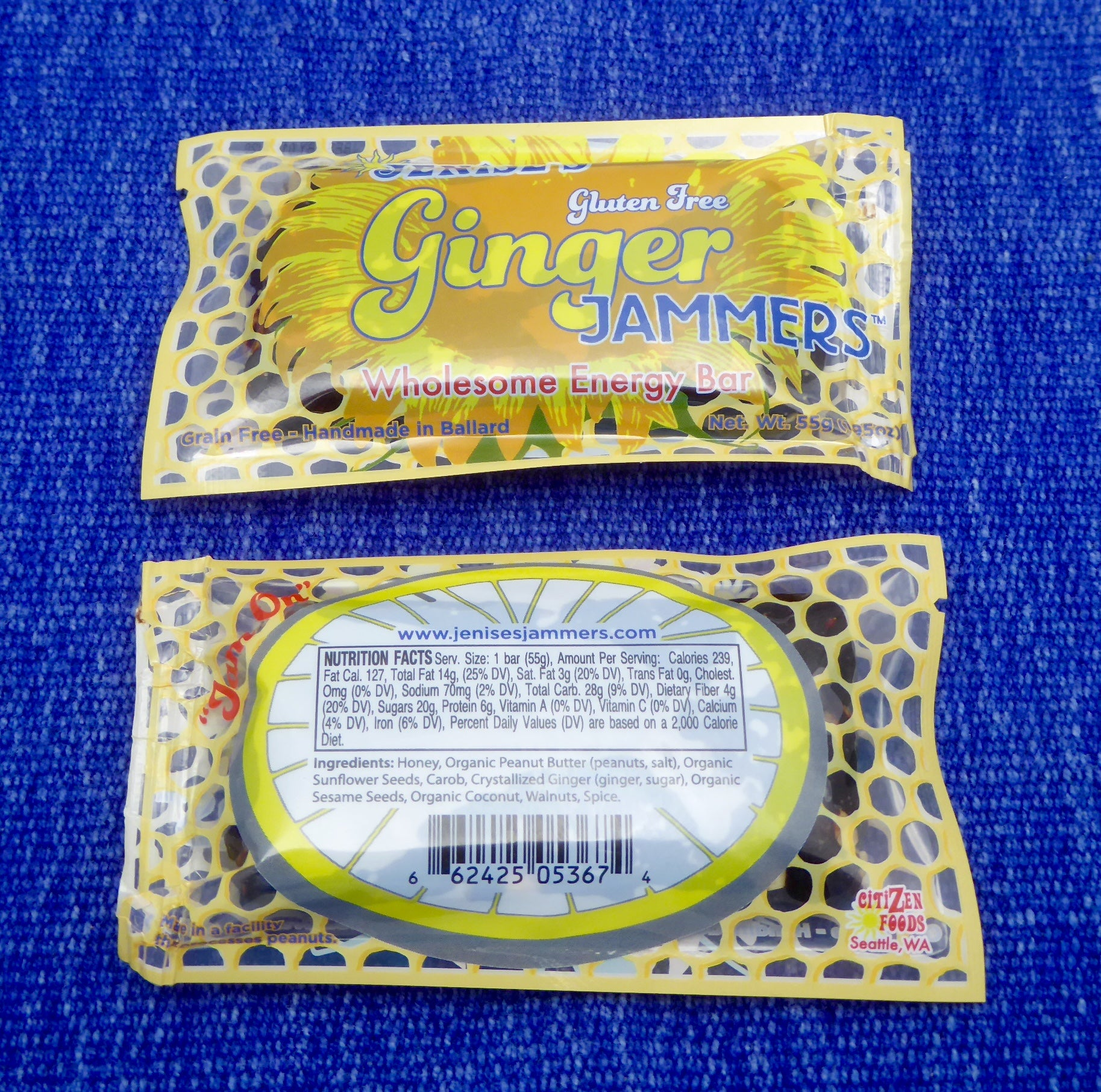 Ginger Jammers Box of 36