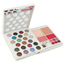 Arezia Makeup Kit Mk 0276 ( 22x Eyeshadow, 2x Blusher, 1x Compact Powder, 6x Lipgloss..... ) --57.9g-1.9oz By Arezia - Natural Peach