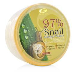 97% Snail Soothing & Moisture Gel --300ml-10.14oz - Natural Peach