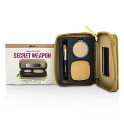 Bare Escentuals Secret Weapon Correcting Concealer & Touch Up Veil Duo - # Medium 1 + Medium --4.7g-0.22oz By Bare Escentuals - Natural Peach