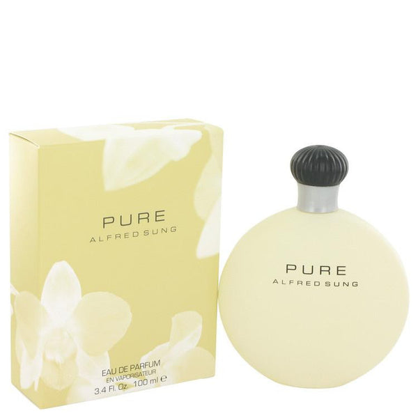 PURE by Alfred Sung Eau De Parfum Spray 3.4 oz - Natural Peach