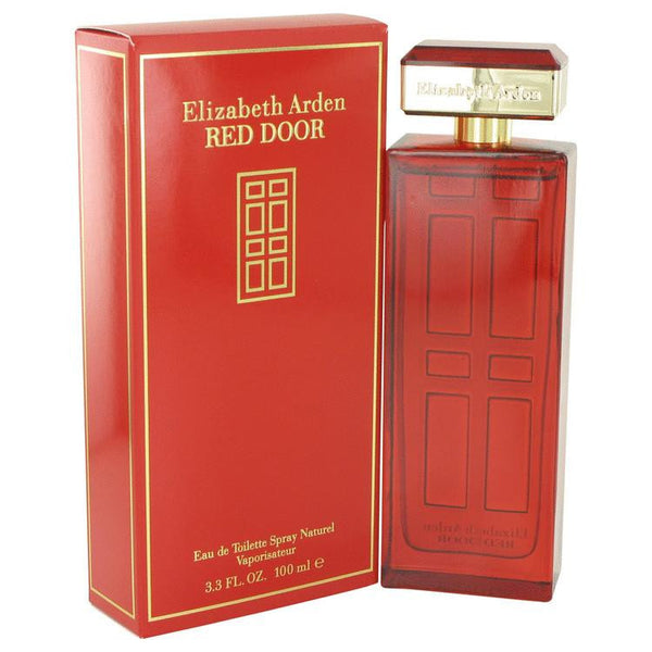 RED DOOR by Elizabeth Arden Eau De Toilette Spray 3.3 oz - Natural Peach