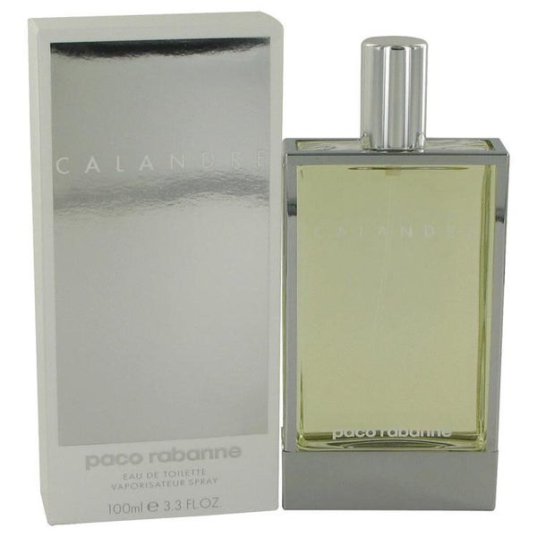 CALANDRE by Paco Rabanne Eau De Toilette Spray 3.4 oz - Natural Peach