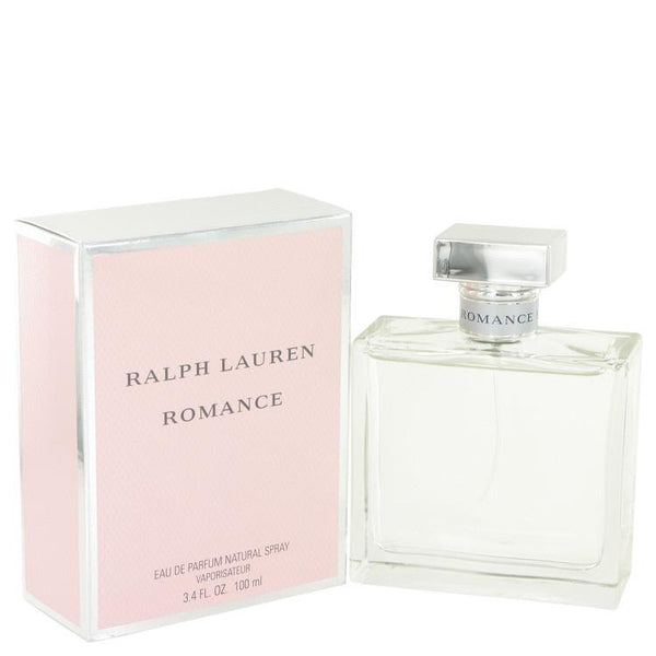 ROMANCE by Ralph Lauren Eau De Parfum Spray 3.4 oz - Natural Peach