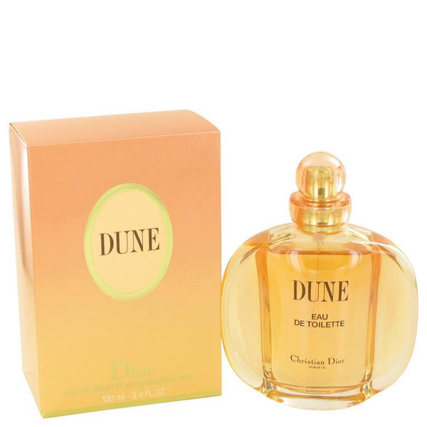 DUNE by Christian Dior Eau De Toilette Spray 3.4 oz - Natural Peach