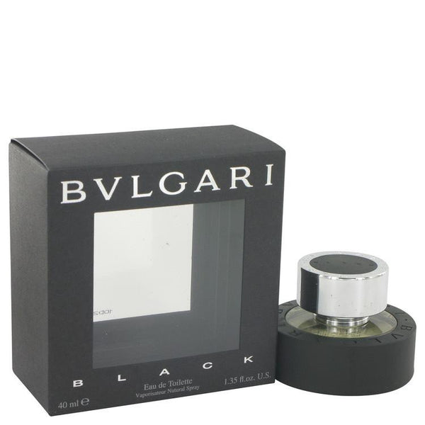 BVLGARI BLACK (Bulgari) by Bvlgari Eau De Toilette Spray (Unisex) 1.3 oz - Natural Peach