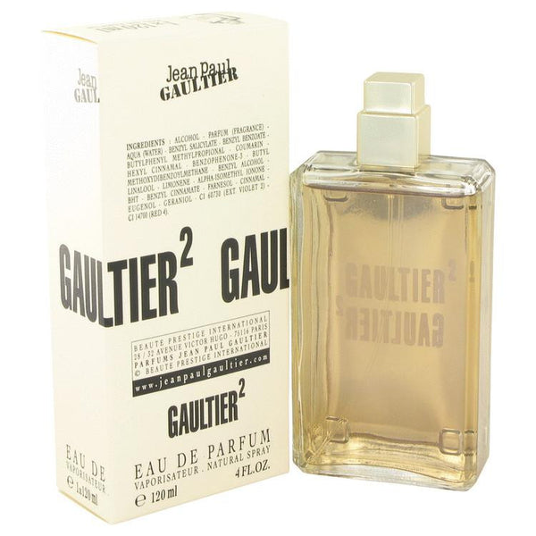 JEAN PAUL GAULTIER 2 by Jean Paul Gaultier Eau De Parfum Spray 4 oz - Natural Peach