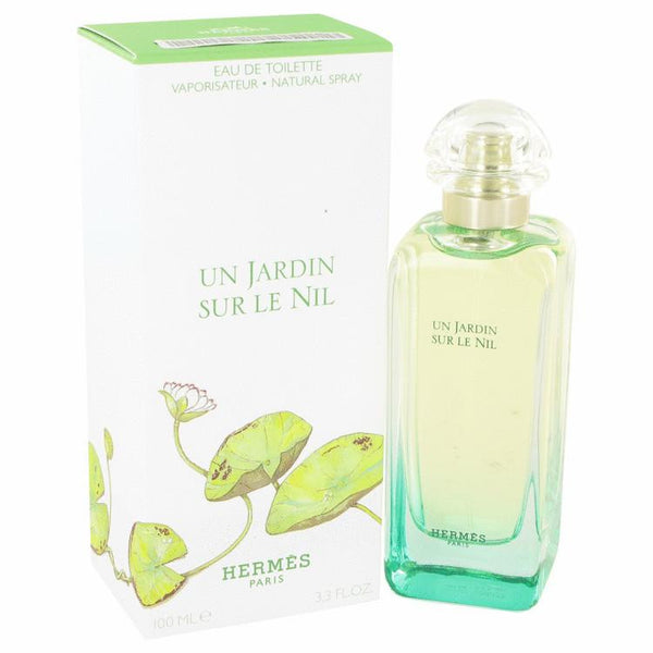 Un Jardin Sur Le Nil by Hermes Eau De Toilette Spray 3.4 oz - Natural Peach