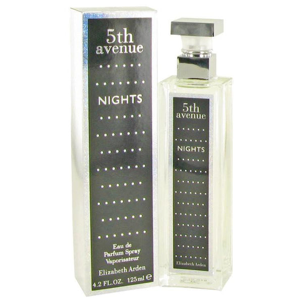 5th Avenue Nights by Elizabeth Arden Eau De Parfum Spray 4.2 oz - Natural Peach