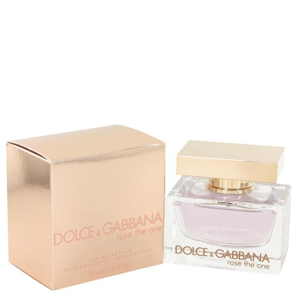 Rose The One by Dolce & Gabbana Eau De Parfum Spray 1.7 oz - Natural Peach