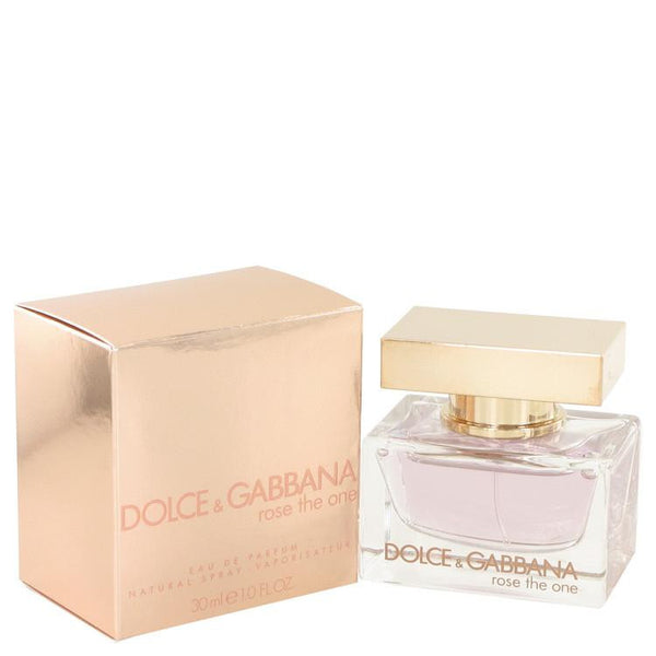 Rose The One by Dolce & Gabbana Eau De Parfum Spray 1 oz - Natural Peach