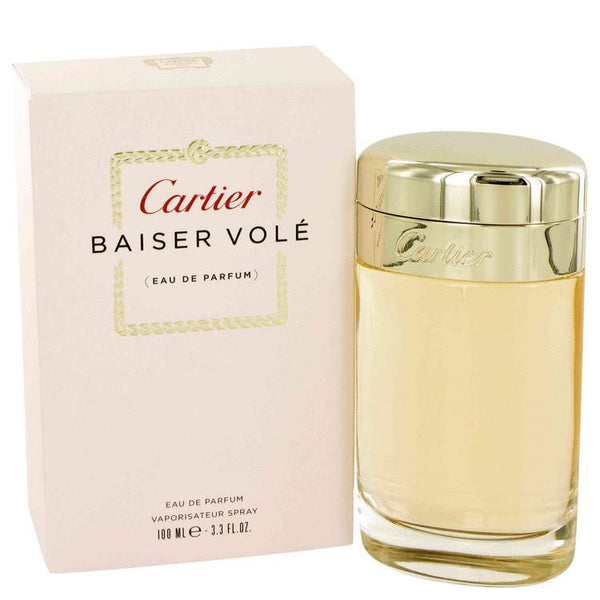 Baiser Vole by Cartier Eau De Parfum Spray 3.4 oz - Natural Peach