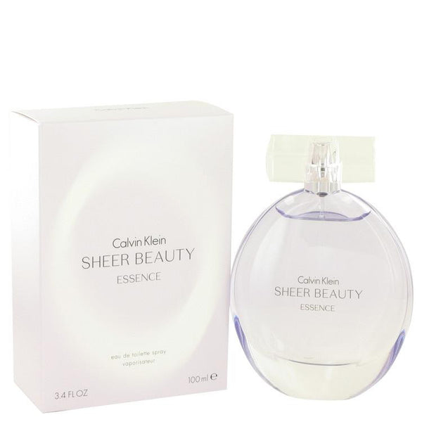 Sheer Beauty Essence by Calvin Klein Eau De Toilette Spray 3.4 oz - Natural Peach