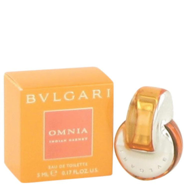 Omnia Indian Garnet by Bvlgari Mini EDT .17 oz - Natural Peach