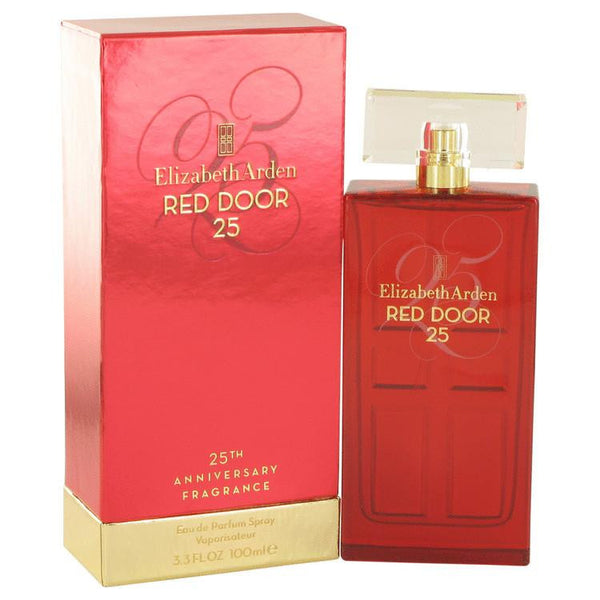 RED DOOR by Elizabeth Arden Eau De Parfum Spray (25th Anniversary Limited Edition) 3.4 oz - Natural Peach