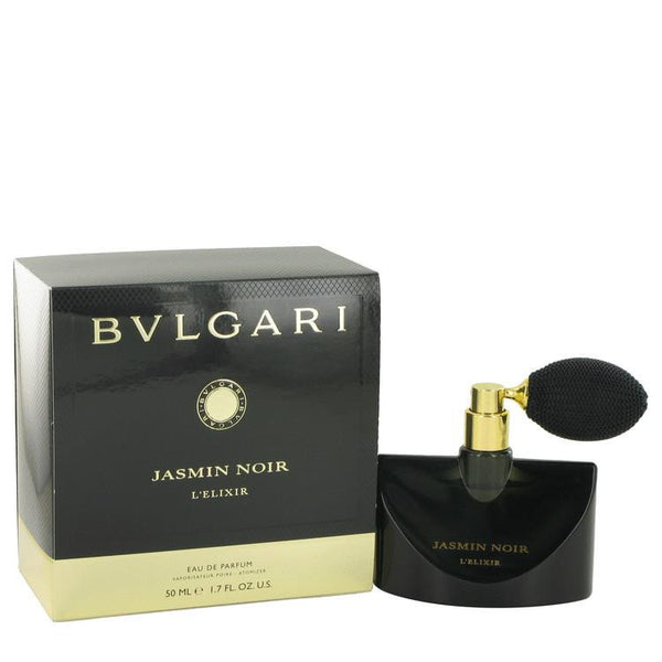 Jasmin Noir L'elixir by Bvlgari Eau De Parfum Spray 1.7 oz - Natural Peach