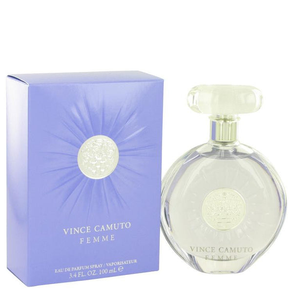 Vince Camuto Femme by Vince Camuto Eau De Parfum Spray 3.4 oz - Natural Peach