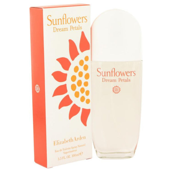 Sunflowers Dream Petals by Elizabeth Arden Eau De Toilette Spray 3.3 oz - Natural Peach