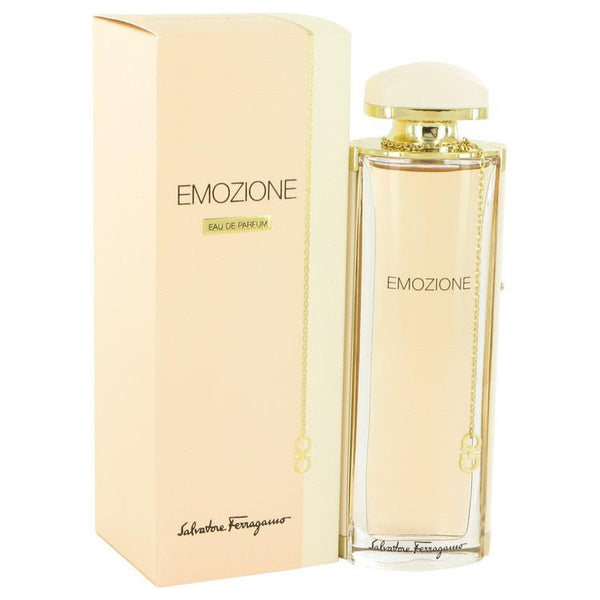 Emozione by Salvatore Ferragamo Eau De Parfum Spray 1.7 oz - Natural Peach