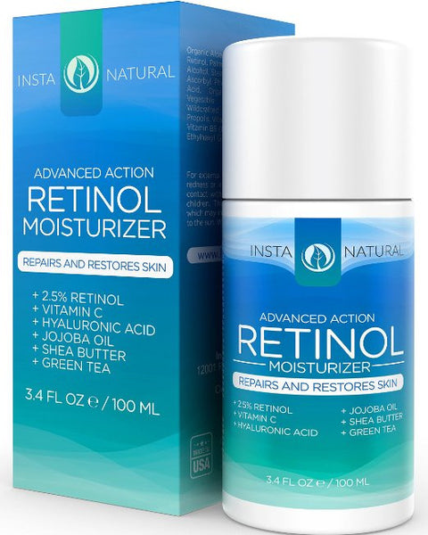 Insta Natural Retinol Moisturizer - Natural Peach - 1