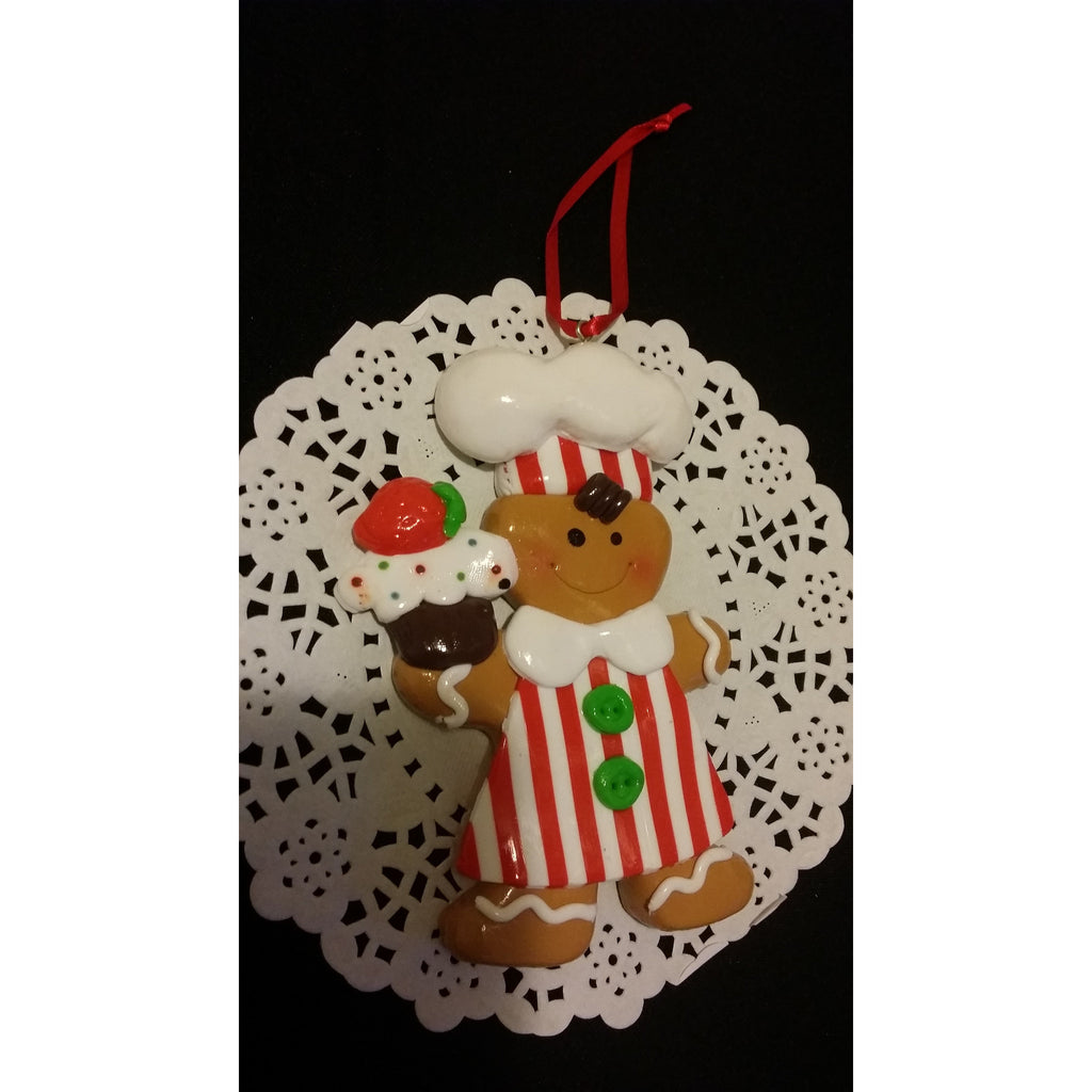 gigerbread christmas ornaments gingerbread christmas tree decorations red christmas ormament cake toppers boutique - Gingerbread Christmas Tree Decorations