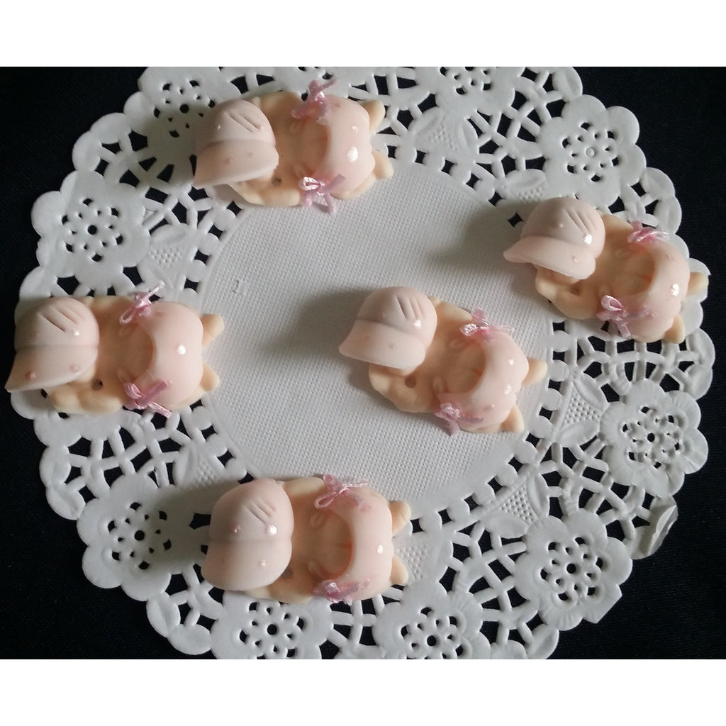Corsage Babies Figurines Babies In Pink White Or Blue Corsage