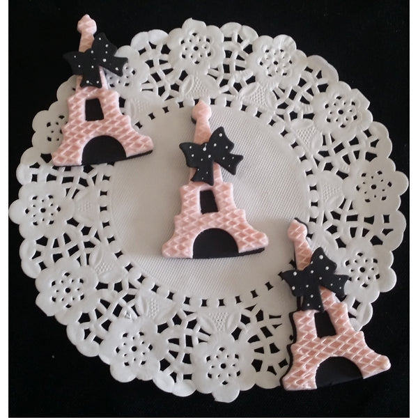 eiffel tower figurines eiffel tower cake topper paris. Black Bedroom Furniture Sets. Home Design Ideas