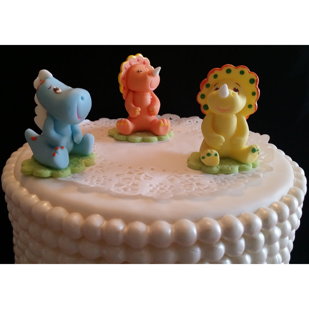 Dinosaur Cake Topper And Centerpiece Decorations Dinosaur Birthday