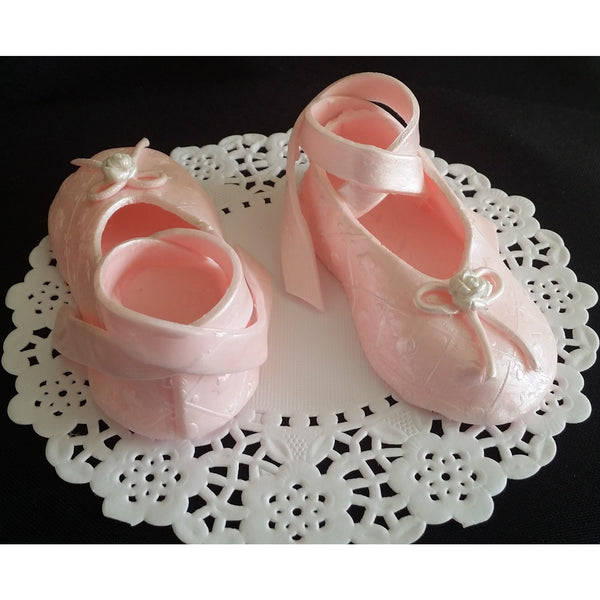 Cake Decorations Ballet Shoes : Ballerina Shoes Cake Topper, Ballerina Baby Shower, Ballet ...