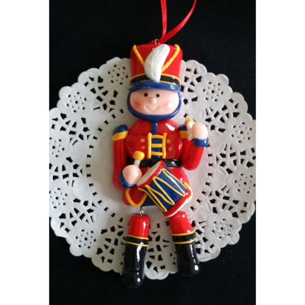 Christmas Ornament Drum Boy Ornamemt Nutcracker Christmas Tree Decorations - Cake Toppers Boutique