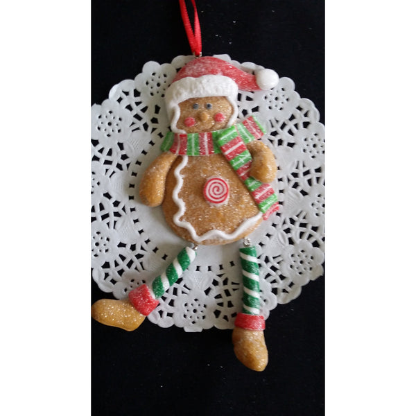 Christmas Ornaments, Christmas Tree Decorations, Red and Green Christmas Ormament - Cake Toppers Boutique