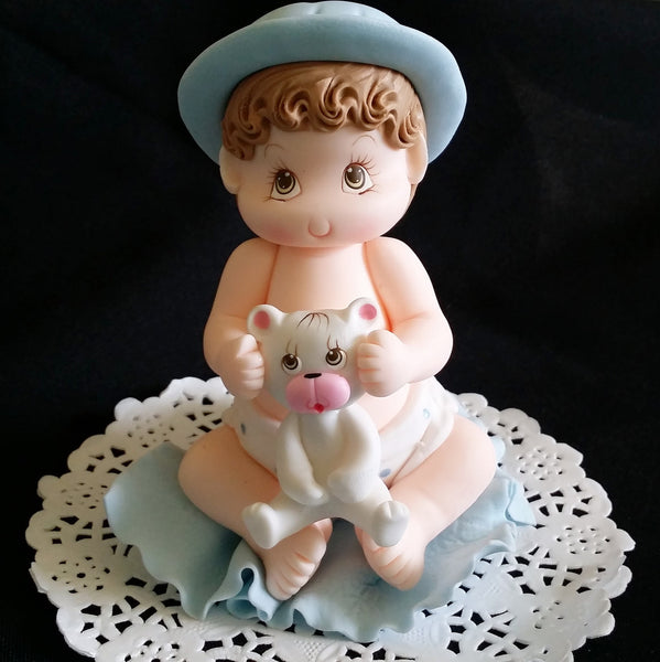 Baby Shower Cake Decorations Baby Shower Cake Topper Baby Girl or Boy Cake Topper - Cake Toppers Boutique