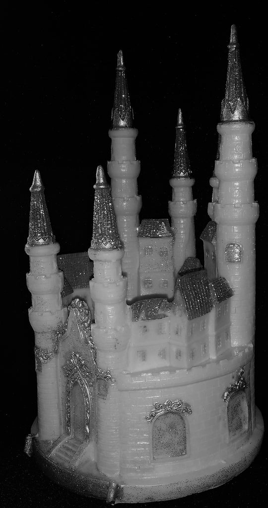 castle cake topper princess birthday party decorations in gold or silver cake toppers boutique