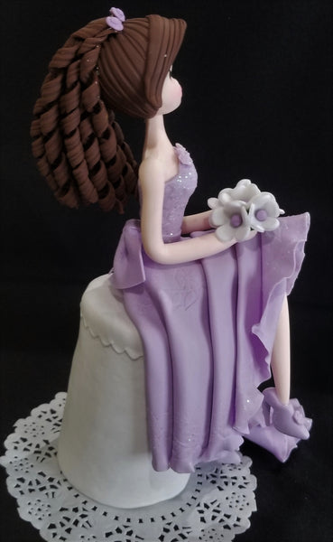 Quinceañera Cake Topper, Quinceañera Cake Topper, Sweet Sixteen Cake Topper, Birthday Cake Topper - Cake Toppers Boutique