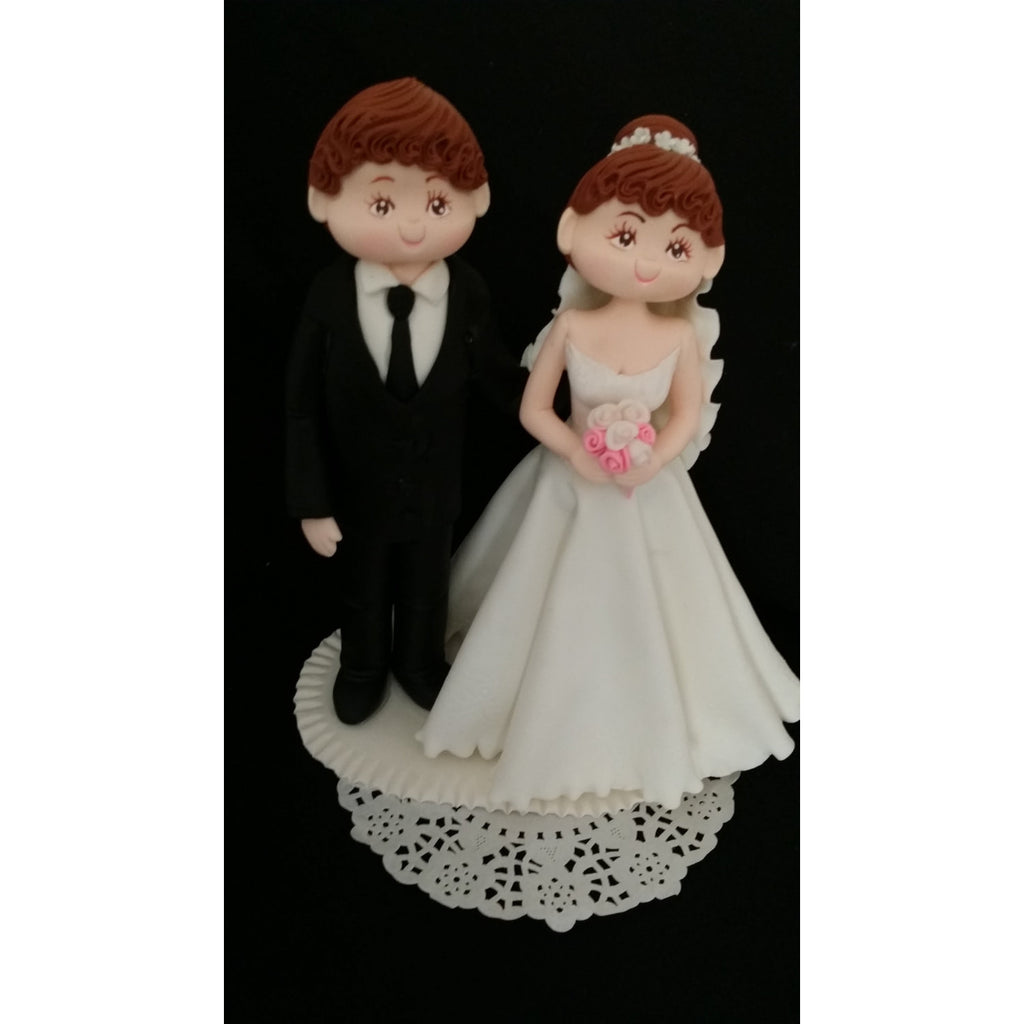 customized wedding cake toppers bride and groom unique wedding cake topper amp groom cake topper 3262