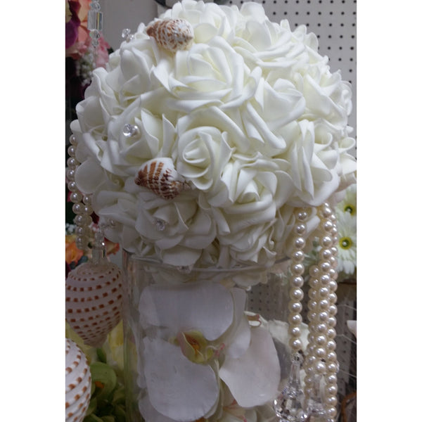 Wedding Pomander 5 Pomander Flower Balls Flower Balls Row marker Aisle Decoration Kissing Balls - Cake Toppers Boutique