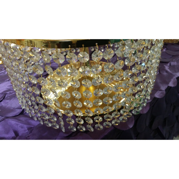 Wedding Cake Stand, Crystal Bling Bling Cake Stand, Gold Wedding Decoration, Crystal Wedding Decor, Silver Cake Stand, Elegant Wedding Decor - Cake Toppers Boutique