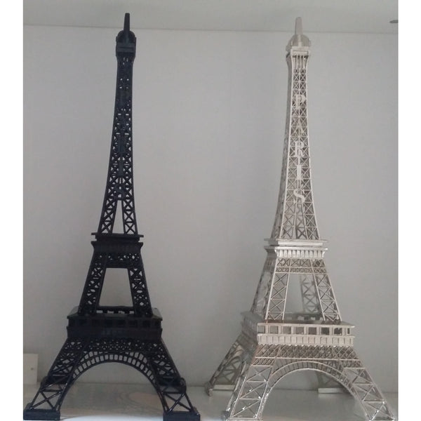 Eiffel Tower Cake Decorations Paris Theme Decoration Eiffel Centerpieces in Silver Gold Black - Cake Toppers Boutique