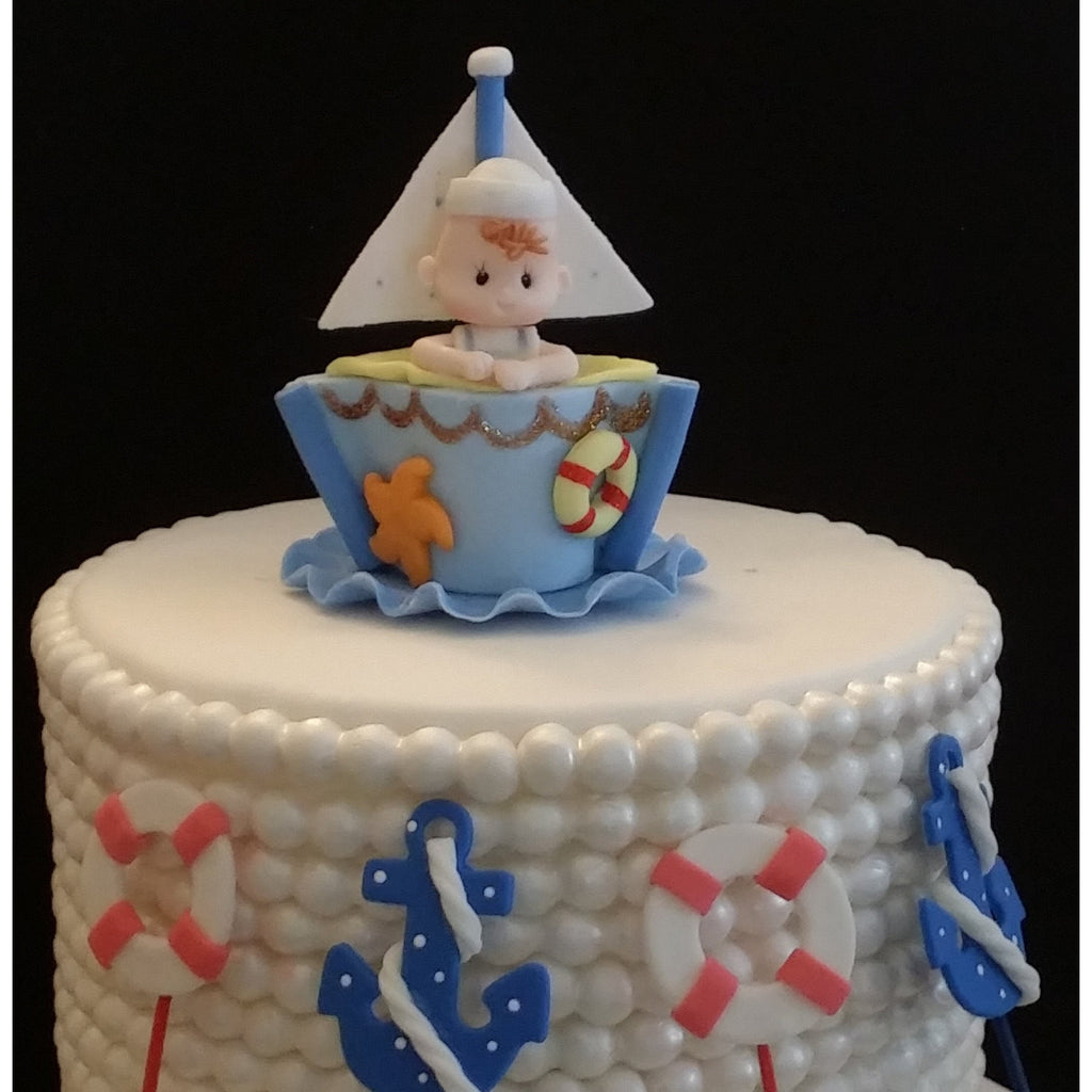 nautical cake toppers for wedding cakes nautical cake decorations sailor baby shower nautical 17728