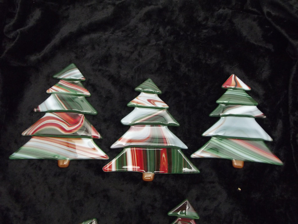 Fused Christmas Tree Ornaments