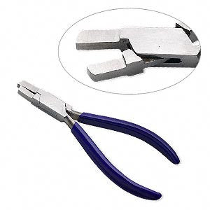 "Best Seller!  STONE SETTING PLIERS 5"" Rubber Grips over Metal Tightens Prongs"