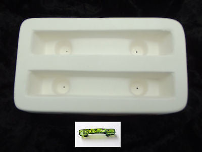 Little Fritters 53 BAR HANDLE DRAWER PULL Glass Fusing Mold Made in the US
