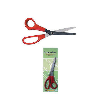 Foil Pattern Shears STUDIO PRO Stained Glass Supplies 604 Scissors Diamond Tech