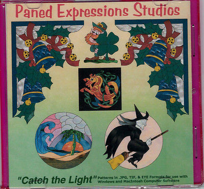 CATCH THE LIGHT Pattern CD Book Paned Expressions HOLIDAYS + BONUS