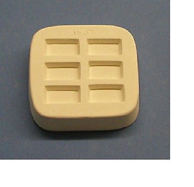 Excellent Quality MINI RECTANGLE Little Fritters Casting Mold EARRINGS USA Made