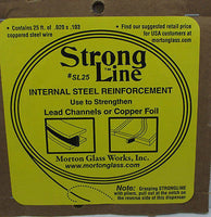STRONG LINE Morton INTERNAL STRENGTH Reinforcement Thin Coppered Steel Strip