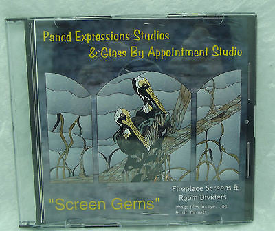 Paned Expressions SCREEN GEMS Pattern Book on CD HOME PROJECTS!