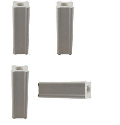 Set of FOUR Kiln Posts 3 by 1 inch Fusing Glass Furniture Slump Durable Ceramic