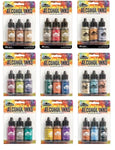 Tim Holtz Ranger ALCOHOL INK SETS Three 1/2 oz bottles CHOICE Coordinated Colors