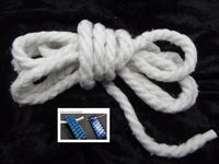 OUR BEST Fusing Fiber Rope 8 Feet Supplies Leave Space For Bails 2300 degrees